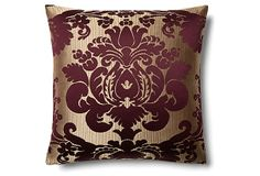 Edward 20x20 Pillow, Amethyst on OneKingsLane.com