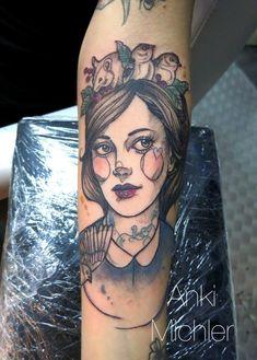 Un tattoo réalisé par Anki Michler #Quentin