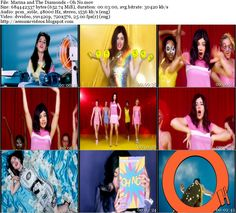 #AEMusicVideos VIP: Marina and The Diamonds - Oh No (Master DV 576i)