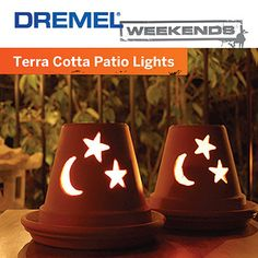 Add a soothing glow to your deck or patio with this Dremel Weekends project.