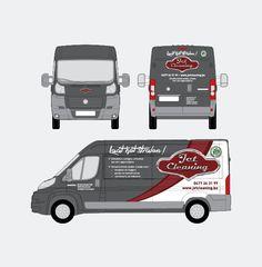 Jet Cleaning - Huisstijl realisatie - Communicatie en reclamebureau 2design Roeselare - Grafisch ontwerp, webdesign en apps - Huisstijl - belettering camionette