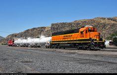 RailPictures.Net Photo: BNSF 1582 BNSF Railway EMD SD45-2 at Wishram, Washington by Matthew Griffin
