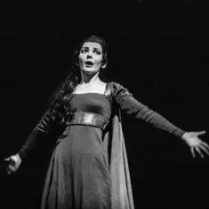Maria Callas, Set Design Theatre, One And Only, Two Piece Skirt Set, Gowns, Artist, Dresses, Persona, Vestidos
