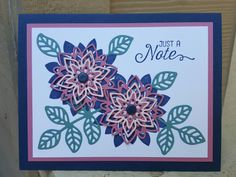 Stampin' Up! Flourishing Phrases Stamp Set and Flourish Thinlits Dies by Cindy McClung