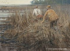Here they come Snipe         Not Just Wildlife Art of John & Suzie Seerey-Lester
