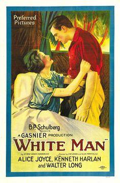 1924 White Man  ART & ARTISTS: Film Posters 1913 - 1929
