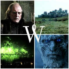 W is for … … Walder Frey, Winterfell,White Walkers, and Wildfire