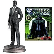 DC Superhero Black Mask Black Pawn Chess Piece with Magazine - http://lopso.com/interests/dc-comics/dc-superhero-black-mask-black-pawn-chess-piece-with-magazine/