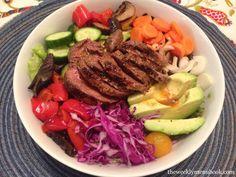 Grass-Fed Steak Salad with Southwestern Vinaigrette