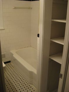 Young House Love   Tackling The Bathroom: Chapter Two   http://www.younghouselove.com How to demo a bathroom
