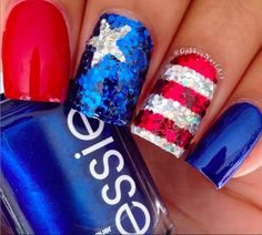 20 Patriotic Manicures to Try This 4th of July - Take a Bow! | Guff