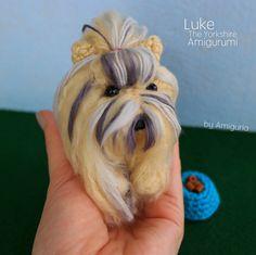 Ravelry: Amiguria's Luke Amigurumi
