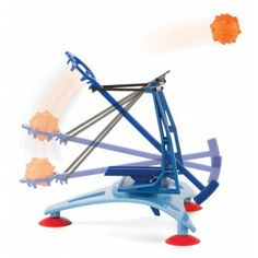 Air Strike Catapult - desktop model with spiked foam balls | Edmund Scientifics, $14.95