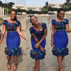 The complete pictures of latest ankara short gown styles of 2018 you've been searching for. These short ankara gown styles of 2018 are beautiful Short Ankara Dresses, Ankara Gown Styles, Short Gowns, Ankara Gowns, African Print Dresses, African Print Fashion, Africa Fashion, African Dress, Ankara Blouse