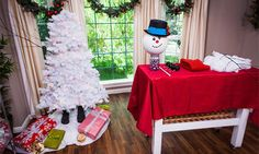 Home & Family - How-To - DIY Frosty the Snow Tree with Tanya Memme | Home & Family