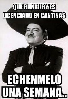 Que conste que no soy homofobico, ni xenofoboco [bueno poquito]... pero Jose Alfredo era un hombre... Bunbury ni mexicano es... cc @Melissa Burton Garcia