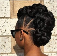natural hair updo special occasion hair ideas for styling and protective hairstyling