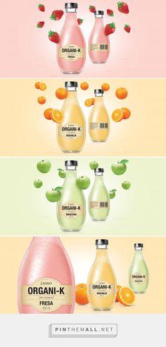 ORGANI-K Brand Juice Packaging by ElisavaPack | Fivestar Branding – Design and Branding Agency & Inspiration Gallery