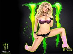 Pictures of hot girls that sponsor monster energy can recommend