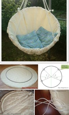 I've always wanted a real hammock but if that's not an option, this DIY Macrame Hammock Chair is the next best thing! Backyard Hammock, Diy Hammock, Hammock Swing, Hammocks, Homemade Home Decor, Diy Home Decor, Macrame Hanging Chair, Diy Crafts To Do, Idee Diy