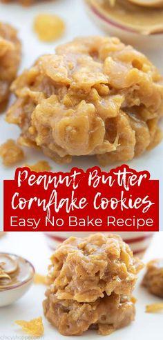 Easy Baking Recipes, Easy Delicious Recipes, Easy Cookie Recipes, Sweet Recipes, Delicious Desserts, Snack Recipes, No Bake Recipes, Dessert Recipes, Fruit Recipes