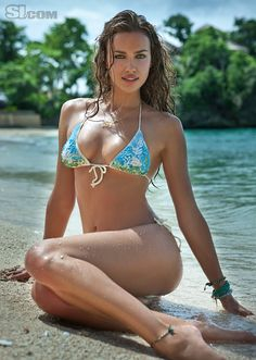 Irina Shayk - Sports Illustrated Swimsuit 2011 Location: Boracay Island, Philippines, Shangri-La Boracay Resort Swimsuit: Swimsuit by Delfina Swimwear Photographed by: Raphael Mazzucco