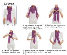How To Tie A Scarf - The Braid