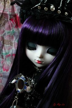 Pullip Doll Kirakishou | May Lee Doll : P.3 Gosse MAJ (+2 new : Kirakishou + Sousei) Bjd, Gothic Photography, Scary Dolls, Cool Monsters, Cute Baby Dolls, Gothic Dolls, Realistic Dolls, Goth Art, Anime Dolls