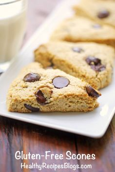 Heart-Healthy Recipes: Gluten-free scones. #HealthEdSolutions