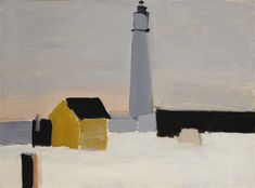Artwork by Nicolas de Staël, LE PHARE (ANTIBES), Made of Oil on canvas