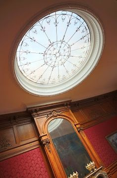 Perry Belmont Mansion DC skylight via architect design™
