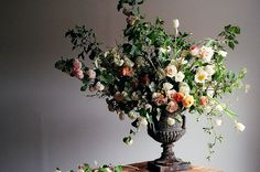 Flowers in a pretty vase