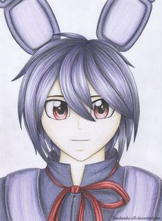 Human Bonnie (FNaF) #4 by Pandaneko-xD on DeviantArt