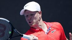 New York Open: Kyle Edmund reaches last 16 with win over Yasutaka Uchiyama  Kyle Edmund was knocked out in the first round of the Australian Open  British number three Kyle Edmund reached the last 16 of the New York Open with 7-5 6-4 win over Japans Yasutaka Uchiyama.  Edmund claimed the opening set when he broke the world number 97s serve in the 12th game.  The players exchanged breaks in the next set before Edmund broke Uchiyama again to seal victory.  Edmund will now play either Canadian…