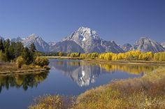 Parque Nacional Grand Teton. Estados Unidos.
