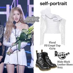 Stage Outfits, Kpop Outfits, Korean Outfits, Girl Outfits, Celebrity Fashion Outfits, Blackpink Fashion, Korean Fashion, Crop Top Outfits, Cute Casual Outfits
