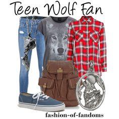 """""""Teen Wolf Fan"""" by fofandoms on Polyvore"""