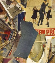 Barry Martin 'Movement Collage', 1965, Printed papers and ink on paper