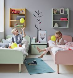 Gray may not top your list for a kid's room, but this post will tell you why it should.