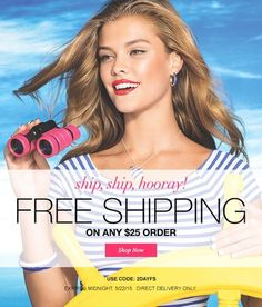 Free Shipping on any $25 order or more when you use code 2DAYFS #freeshipping #avon #makeup #makeupsale #itemsunder5 #coupons #couponcode #free #makeupaddicts #makeuplovers #sale #shopping
