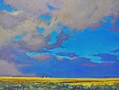 Carl Schlademan - It's Coming This Way 18 x acrylic/canvas Sarah James, It's Coming, Acrylic Canvas, Canadian Artists, Acrylics, Landscapes, Presents, Things To Come, Gallery