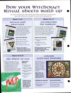Mind, Body, Spirit Collection - How Your Witchcraft Ritual Sheets Build Up