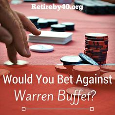 Warren Buffet thinks low fee index funds will beat hedge funds over a 10 years period. Would you bet against him?
