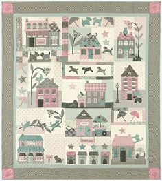 Raining Cats & Dogs by Bunny Hill Designs.