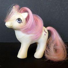 Vintage G1 Baby My Little Pony Baby Moon Dancer Unicorn Hasbro 1984