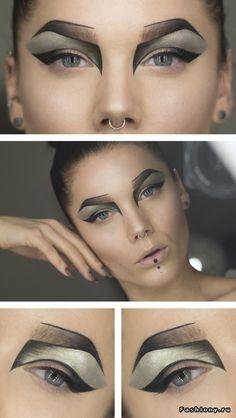 Linda Hallberg. Новые идеи макияжа / техника макияжа видеоуроки смотреть