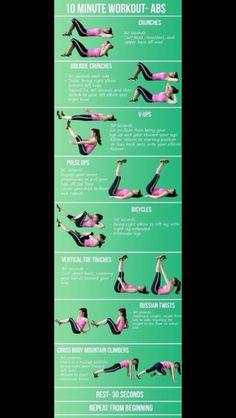 No Pain No Gain - Abs Exercises