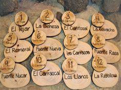 De Madera pendientes Natural Llano Madera Artesanal Decoupage Corte Láser Woodland Animales