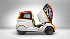 Top Gear drives McLaren F1 designer Shell concept car. Gordon Murray's three-seat urban wonder, the Shell Concept Car.