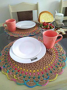 Crochet Motif Patterns, Napkins Set, Doilies, Coasters, Sewing, Rugs, Crochet Lace, Tutorial Crochet, Crochet Doilies